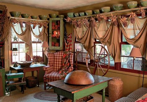 Home Design Decor Magazine : A Primitive Place & Country Journal Magazine