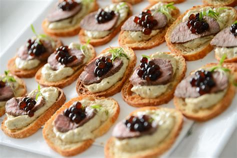 freezable canapes canapé and baba ganoush peninsula larder