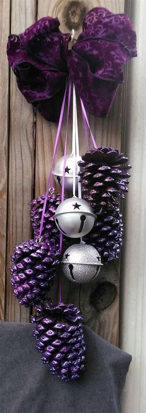 holiday pine cone craft ideas