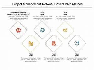 Project Management Network Critical Path Method Ppt