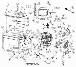 Powermate Formerly Coleman Pm0601250 Parts Diagram For