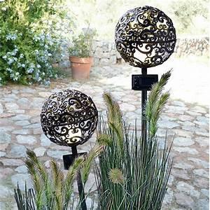 Lampen Für Den Garten : solarleuchten garten antik gartenlampe kugel my lovely home my lovely home ~ Whattoseeinmadrid.com Haus und Dekorationen