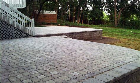 patios paving installation bergen county nj d d