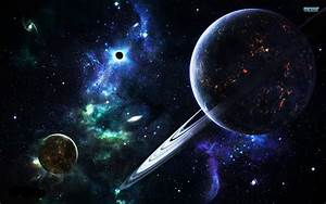 Galaxy Planet Wallpaper | 7 Universal Laws || #4 Law of ...