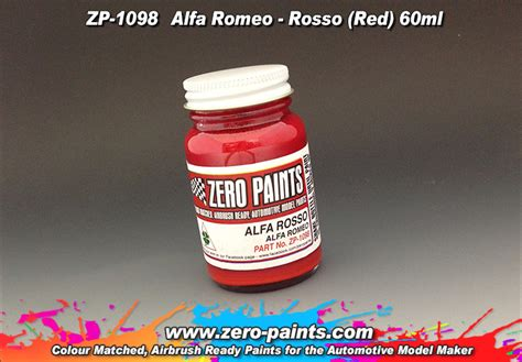 Rosso (red) Paint 60ml