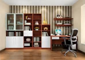modern study room interior design 3d house