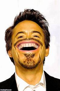 Robert Downey Jr as a Smiley Face Emoticon Pictures ...