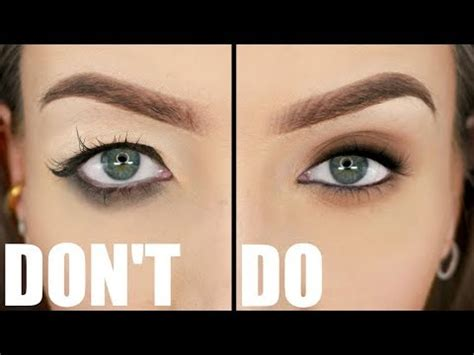 hooded eyes dos donts  exaggerated stephanie