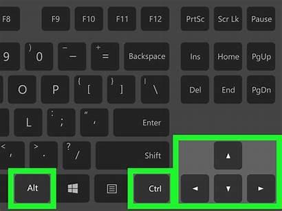 Rotate Screen Key Shortcut Laptop Keystroke Windows