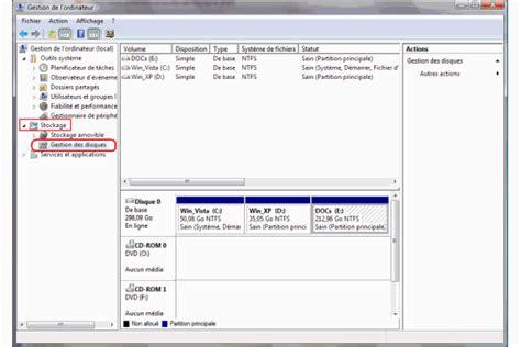 fnac ordinateur bureau partitionner disque dur sous windows pourquoi et