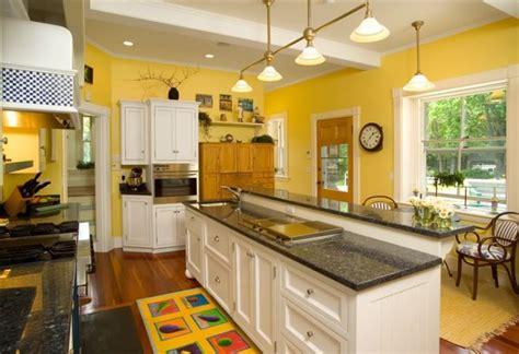 beautiful kitchens  yellow walls