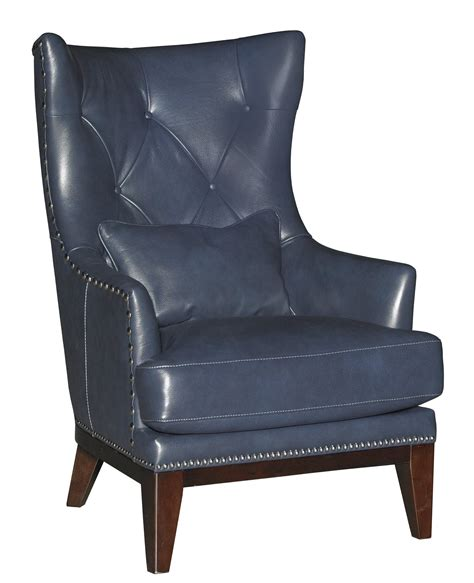blue accent chairs for living room cobalt blue leather match accent chair ottoman 1782