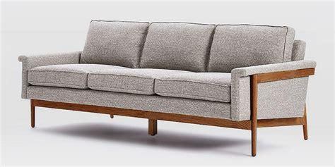 exposed wood frame sofa exposed wood frame sofa