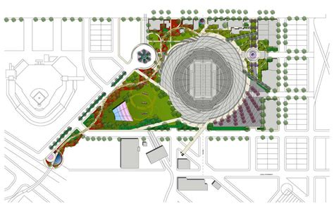 aeccafe east village stadium masterplan  san diego  dbrds