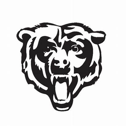 Bears Chicago Bear Silhouette Bergenfield Head Tattoo