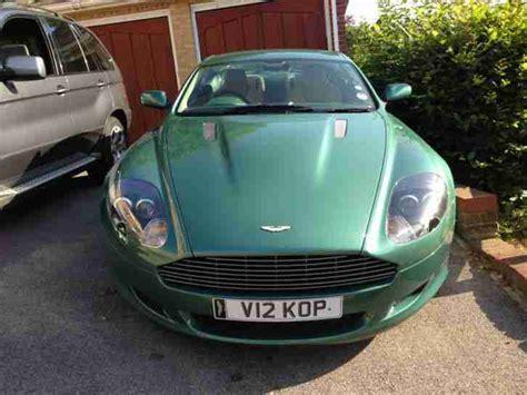 Aston Martin Db9 5.9 Seq, Rare Am Racing Green With Recent