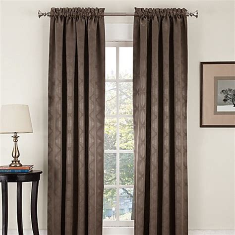Pole Top Drapes - velocity pole top window curtain panel bed bath beyond