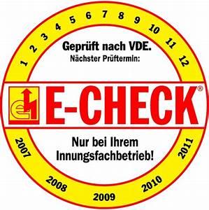 E Check Prüfung : e check sistemo meisterbetrieb der elektroinnung in m nchengladbach ~ Frokenaadalensverden.com Haus und Dekorationen