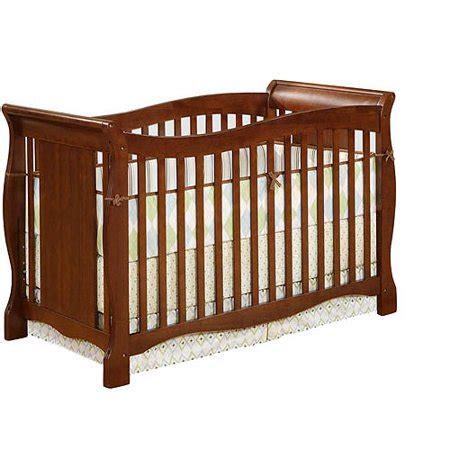 baby crib walmart baby relax easton 4 in 1 convertible crib walnut walmart