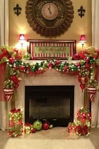 mantel christmas decorations 35 Beautiful Christmas Mantels — Style Estate