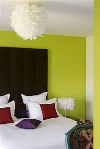 Deco Vert Anis : deco chambre vert anis et chocolat visuel 6 ~ Teatrodelosmanantiales.com Idées de Décoration