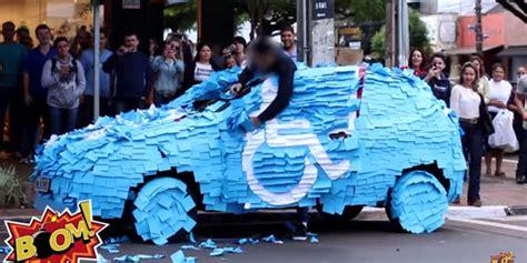 Cara Untuk Aborsi Bekasi Parkir Di Tempat Orang Cacat Mobil Ini Alami Vandalisme