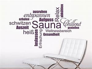 Sauna Handtuch Mit Namen : wandtattoo sauna wortwolke wandtattoo de ~ Orissabook.com Haus und Dekorationen