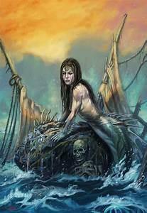 Mermaid by NathanRosario on DeviantArt