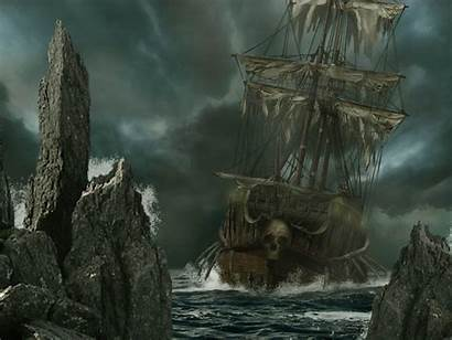 Ghost Wallpapers Pirate Ship Cave