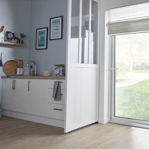 cuisine amovible cloison amovible atelier blanc h 240 x l 80 cm leroy merlin