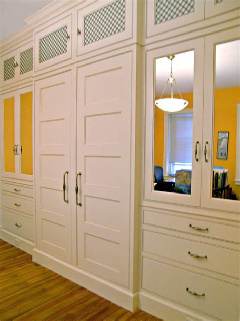 custom built in master closet in washington dc