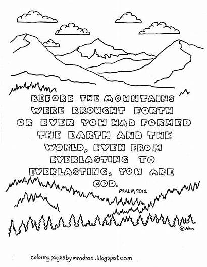 Psalm Coloring Pages Printable 90 Bible God