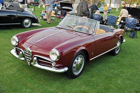 Alfa Romeo 1960 by 1960 Alfa Romeo Giulietta Spider Image