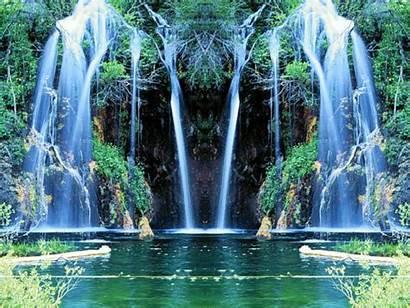 Waterfall Nature Animated Slideshow Desktop Bing Gifer