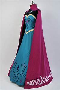 Boot Size Chart Frozen Elsa Coronation Dress With Cloak