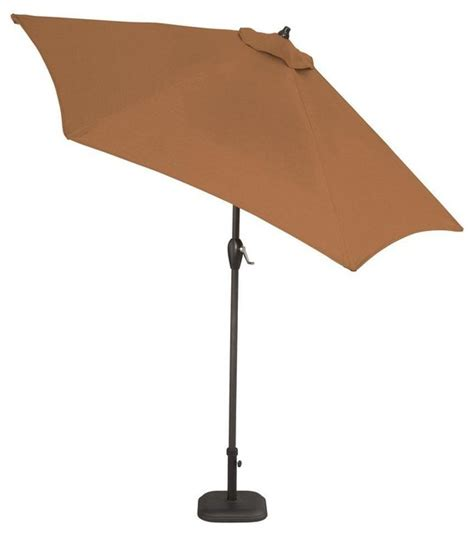 hton bay patio umbrella hton bay 7 1 2 ft steel push up