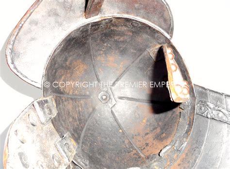 siege bar civil war period lobster siege helmet single