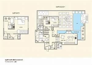 beautiful plan de maison de luxe avec piscine ideas With plan de maison avec piscine interieure