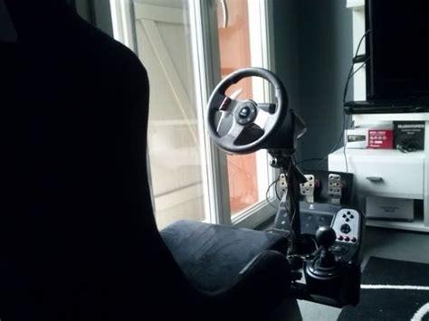 siege g27 playseat diy siège dynamique simulateur de voiture de c