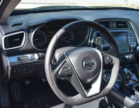 nissan maxima midnight edition interior 2017 nissan maxima sr midnight edition hd road test review