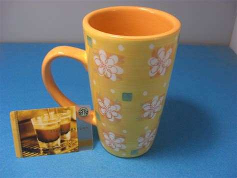 Starbucks Mug Spring Easter Yellow & Orange + Card 2006 Off White End Coffee Tables Types Of With 8 Letters Table Fletcher Set 2 Sets Rooms To Go Hire Sydney At Ikea Low Acid