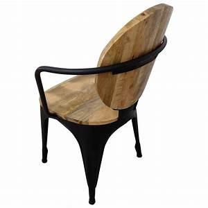 Stuhl Schwarz Holz : stuhl schwarz esszimmerstuhl industrie design mango holz handarbeit industrial st hle st hle ~ Orissabook.com Haus und Dekorationen