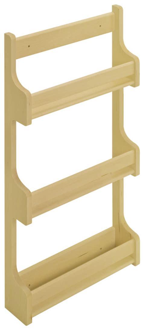Wooden Spice Rack With Door by Door Mount Spice Rack Wooden Cabinet Accessory In The