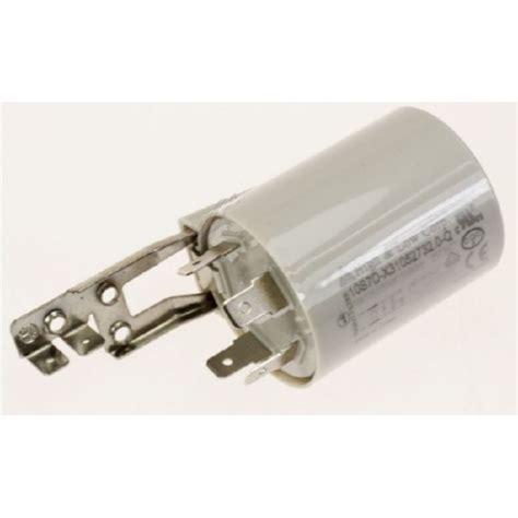 filtre antiparasite pour lave linge r 233 f f489182 lavage lave linge condensateur
