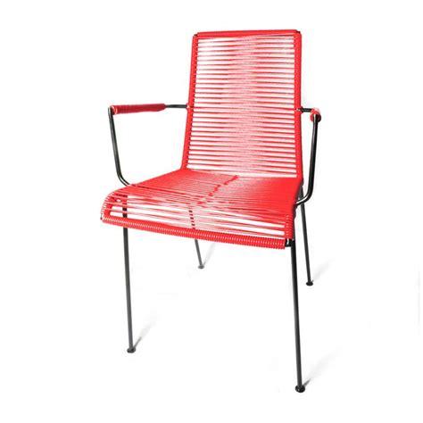 chaise fil plastique la chaise fil avec accoudoir de boqa fauteuils et