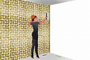 Comment Enlever Le Papier Peint : comment tapisser dans les coins instructions pour poser ~ Dailycaller-alerts.com Idées de Décoration