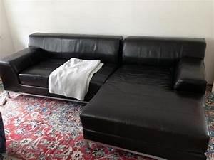 Recamiere Leder Ikea : ikea kramfors 2er sofa mit recamiere braun leder in m nchen polster sessel couch kaufen und ~ Markanthonyermac.com Haus und Dekorationen