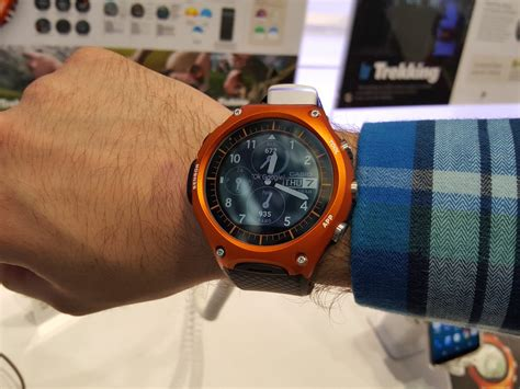 android wear news casio wsd f10 android wear smartwatch on review stuff