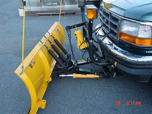Plow   2608 Installed On 1995 F150 From Md    Service