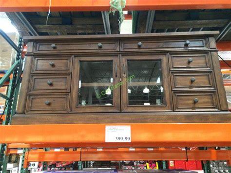 pulaski cambridge sliding door cabinet martin tv console costco bayside furnishings ladder